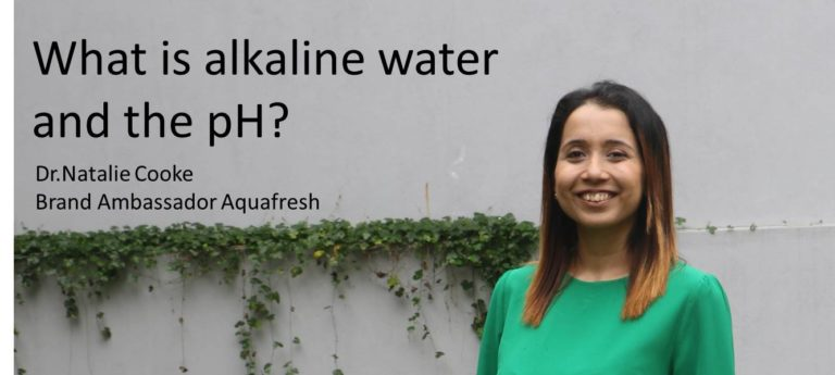 What is alkaline water and the pH? Let's ask Dr.Natalie Cooke